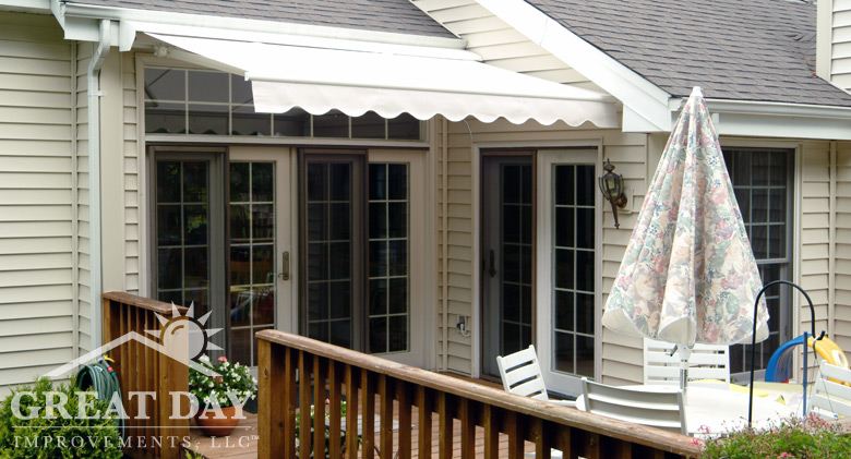 Elegant Retractable Awning Picture   Durasol ...