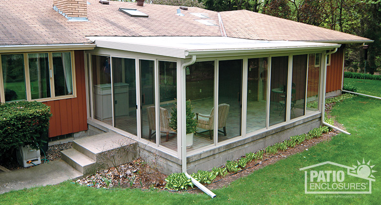 Flat Roof Screened Porch Shapeyourminds Com