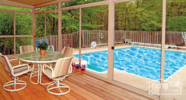 Screened In Porch Screen Room Ideas Pictures Great Day Improvements