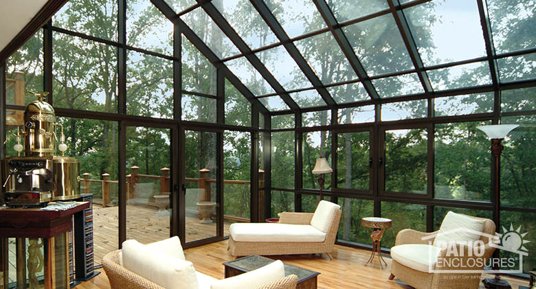 Solarium glass enclosure ideas pictures great day for Solarium room additions