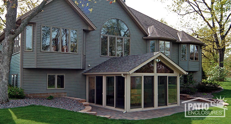 mesmerizing living room addition gable roof | Sunroom Ideas, Designs, Decorations & Pictures | Great Day ...