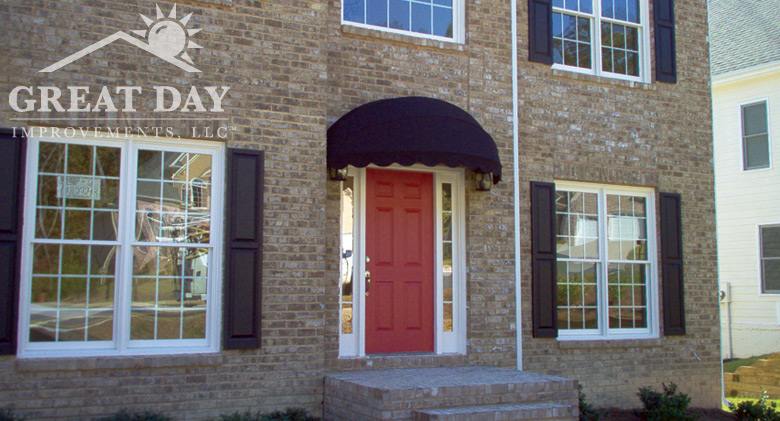 House Awnings For Doors And Windows : Window door awning ideas pictures great day improvements