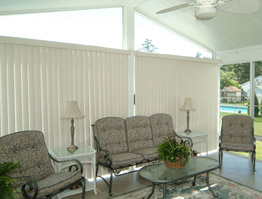 Sunroom Blind & Shade Ideas Picture