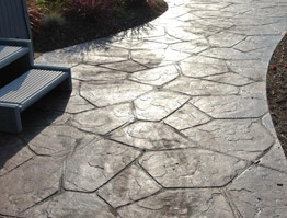 Ordinaire Stamped Concrete Picture