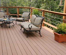 composite decking - Deck Vs Patio