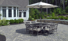 patio pavers & Deck vs Patio: Pros and Cons of Each - ---