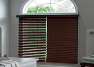 clean slatted blinds