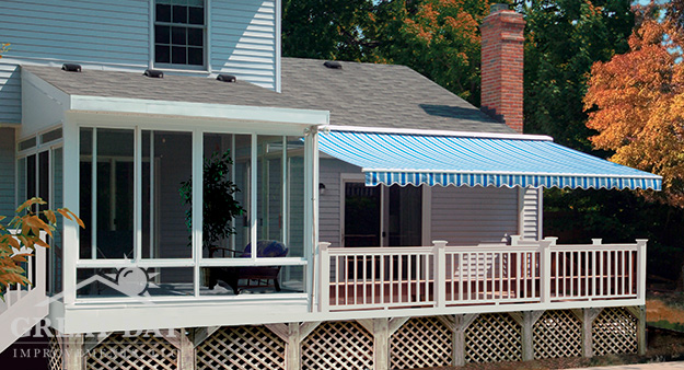 Exceptional Cleveland Backyard Design Cleveland Sunroom And Awning ...