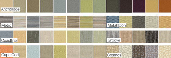 Featured SoftWall Fabric Swatches