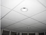 Installation of ceiling tiles